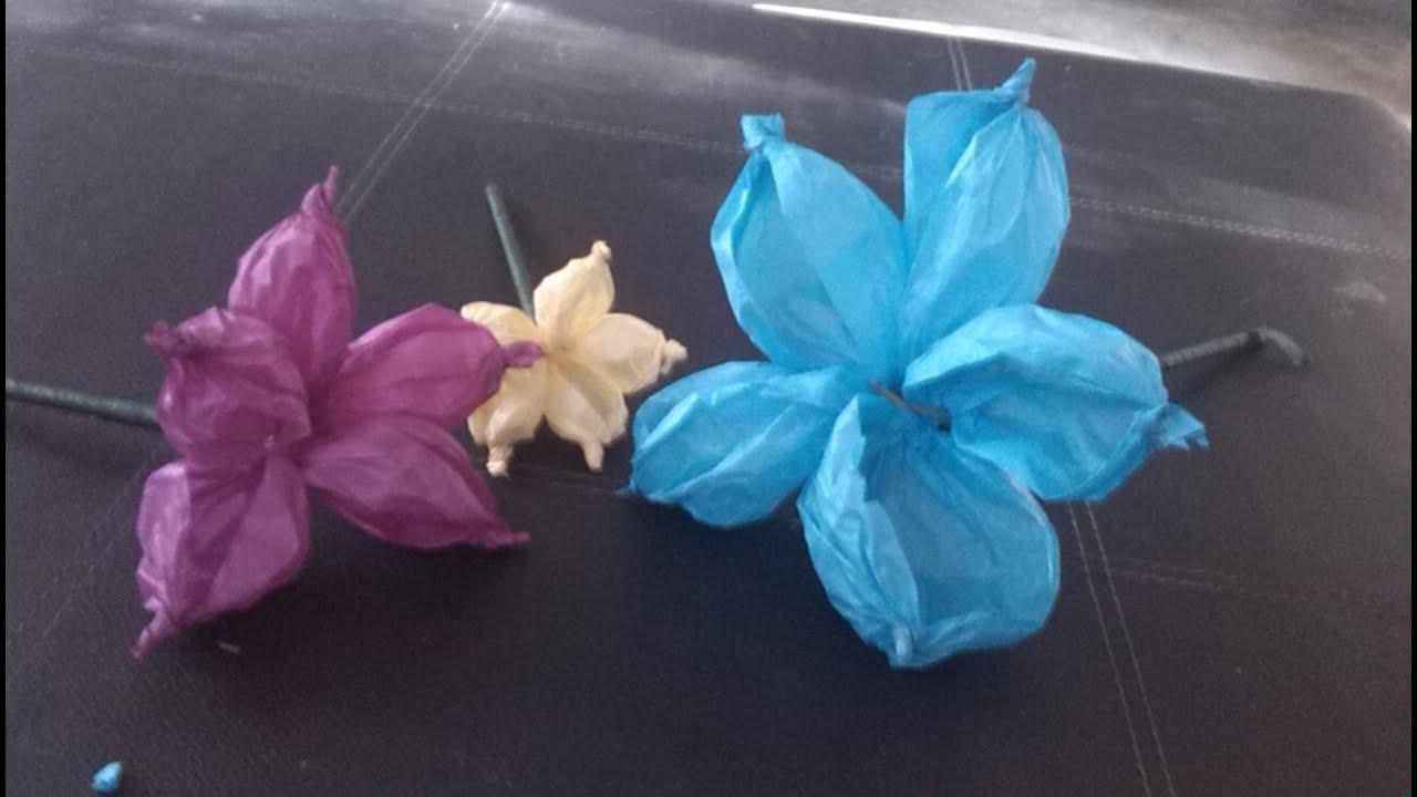 Como hacer flores de papel china f cil youtube - Como se hacen flores de papel ...