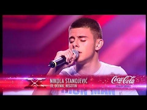 Nikola Stanojevic (When I Was Your Man - Bruno Mars) audicija - X Factor Adria - Sezona 1