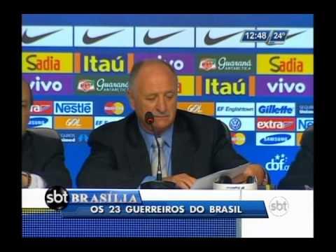 Luiz Felipe Scolari revela nomes de jogadores convocados