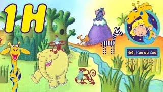 1 heure de 64 rue du Zoo - Compilation #1 HD   Dessin animé en français