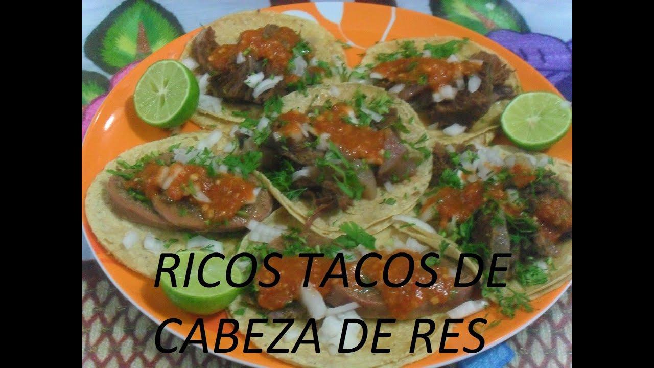 RICOS TACOS DE CABEZA DE RES- TACOS AL VAPOR (LOS ANGELES ...