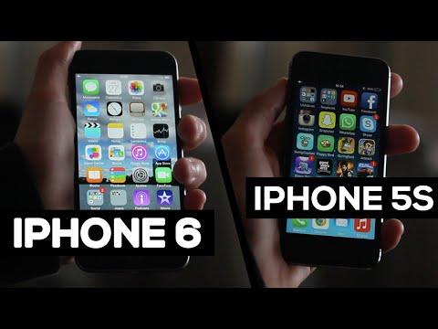 iPhone 6 vs iPhone 5s - Comparação