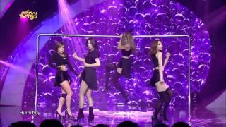 TVPP Miss A Hush Music Core Live