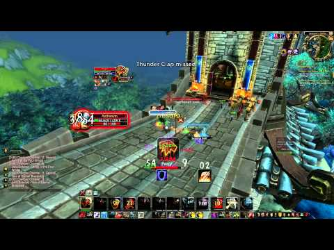 WoW Mists of Pandaria 5.3 PvP Duels Warrior Fury vs Shaman Enhancement