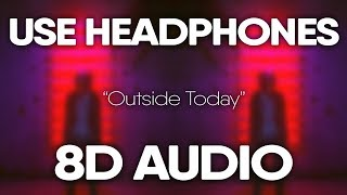 NBA YoungBoy - Outside Today (8D AUDIO) 🎧