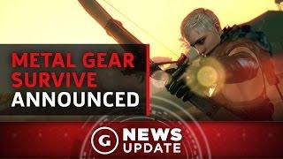 Metal Gear Survive Announced - GS News Update
