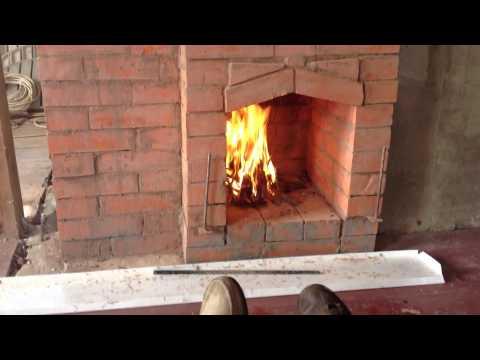 Смотреть видео как сложить печь