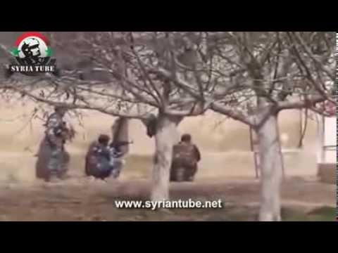 Footage of dead ISIS/al-Nusra terrorists killed by the Syrian Army.
