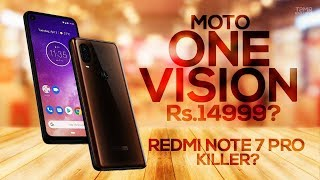 Motorola One Vision - Specs | Price in India | Launch Date | Redmi Note 7 Pro Killer?