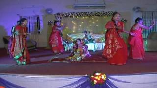 Shimu's holud dance part ( Lilabali )