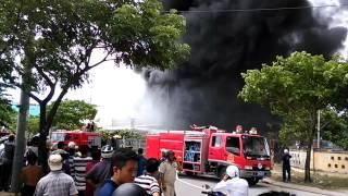 Cháy kho sơn lớn ở Đà Nẵng, Liên Chiểu 5