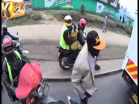 Kufa Kupona : Uendeshaji pikipiki Nairobi