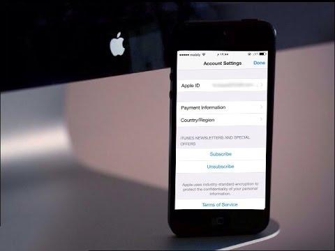 طريقة تغيير دولة حسابك Apple ID مجاني من سعودي إلى أمريكي
