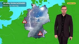 Wetter heute Die aktuelle Vorhersage 12.08.2019