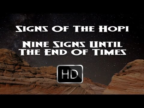 Native American Hopi Indians Signs Of The End Times - Blue Star Prophecy Is Now Fact