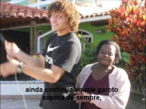 David Luiz homenagem da fã