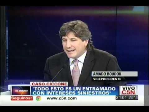 C5N - CASO CICCONE: HABLA AMADO BOUDOU | PARTE 4