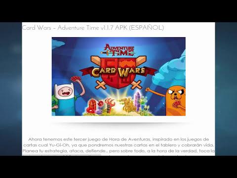 Descargar Hora de Aventura Guerra de Cartas v1.3.0 .apk (Ultima versión) (Card Wars) (Marzo 2015 )
