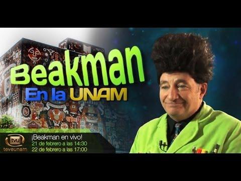 Visita Beackman la UNAM