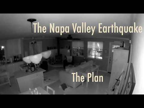 Napa Earthquake Series - The Plan