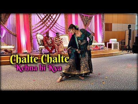 Chalte Chalte (Pakeezah) | Kehna hi Kya (Bombay) | Bollywood Dance Performance