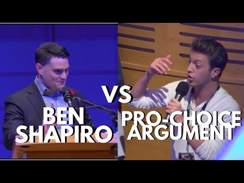 Ben Shapiro SHREDS Pro Abortion Argument | UBCFSC Talk