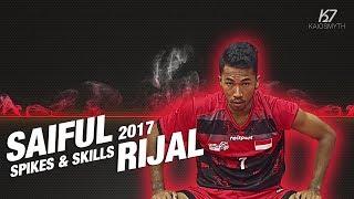 Sepak Takraw ● Saiful Rijal ● Spikes & Skills | 2017 | HD