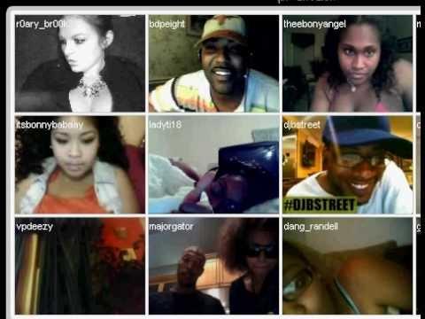 black girls fighting over webcam