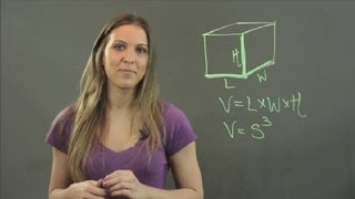 What Is the Length, Width & Height of a Cube? : Math Tutorials