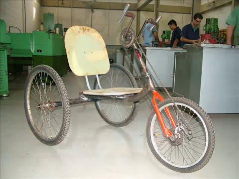 Planejamento, montagem e teste de triciclo para paraplégico