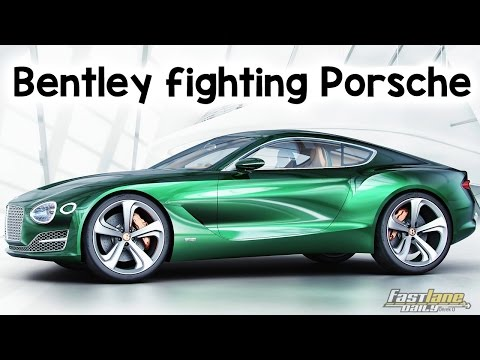 Bentley to take on Porsche Cayman - Fast Lane Daily