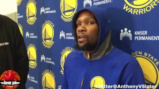 Kevin Durant Explains The Draymond Green Verbal Spat. HoopJab NBA