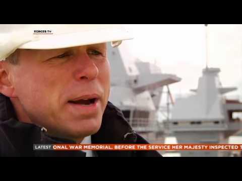 HMS Queen Elizabeth Naming Ceremony 04.07.14