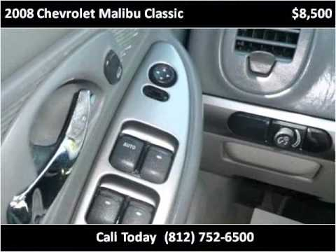 2008 Chevrolet Malibu Classic Used Cars Scottsburg IN