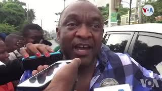 VIDEO: Senateur Youri Latortue fache paske La Police tante gaye manifestation an