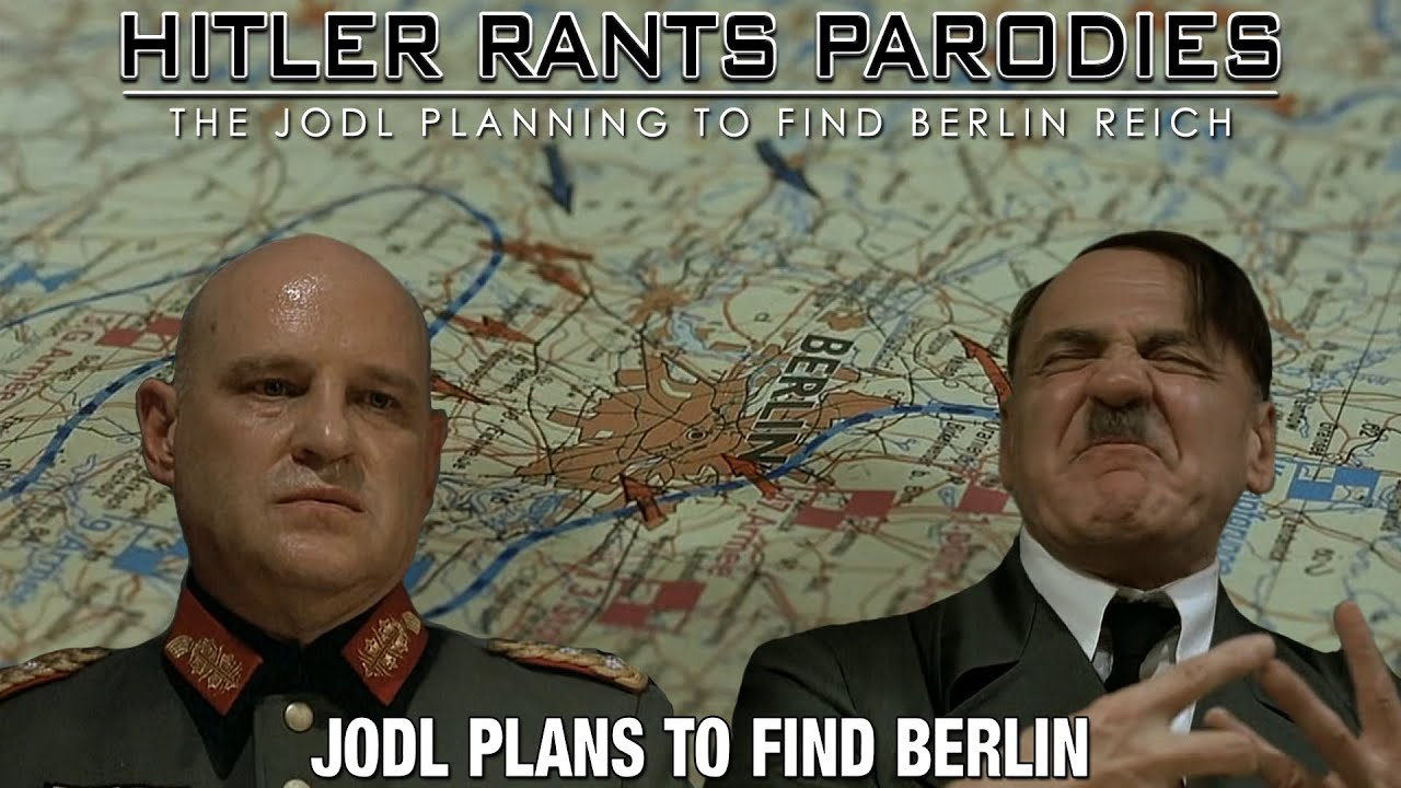 Jodl plans to find Berlin