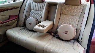Luxury Cars Interior Design | Honda City Leather Car Seat Covers