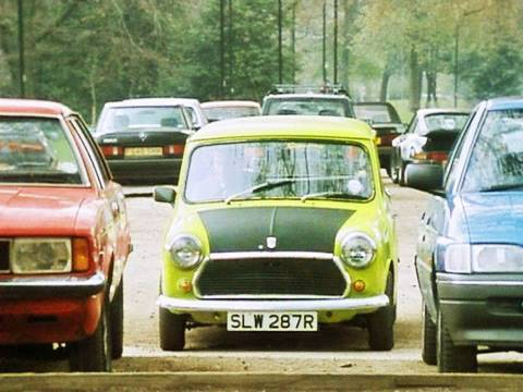 Mr Bean - Bad Parking