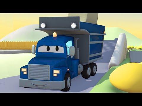 Самосвал и Трансформер Карл   Мультик про машинки и грузовички (для детей)