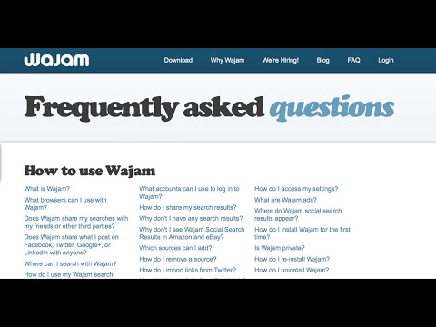Official Video: How to Uninstall Wajam for Mac