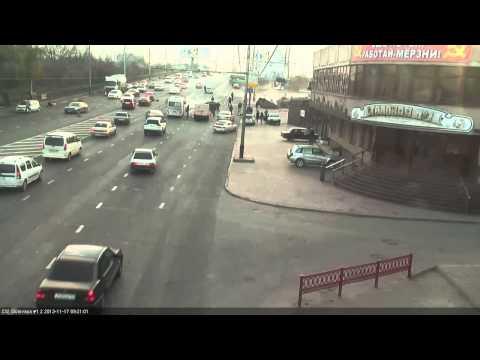 Авария Краснодар, Северная 17.11.2013