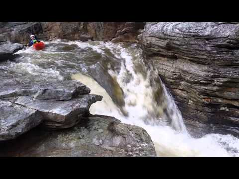 Babel Towers Rapid in Linville Gorge
