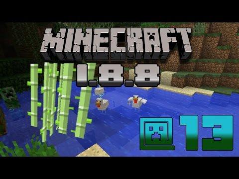 Minecraft 1.8.8 #13 - Полностью автоматическая ферма тростника