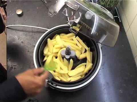 Frieten bakken zonder olie