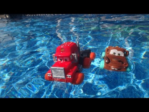 Pixar Cas Aviator Mater races Hawk McQueen in a Retro video from 2012  thanks for watching