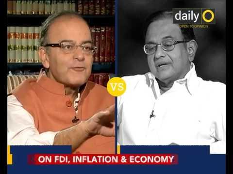 #Modi1: Jaitley versus Chidambaram on DailyO