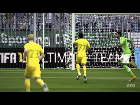 FIFA 15 - UEFA Europa League - VfL Wolfsburg vs Sporting Lisbon Gameplay (PC HD) [1080p]