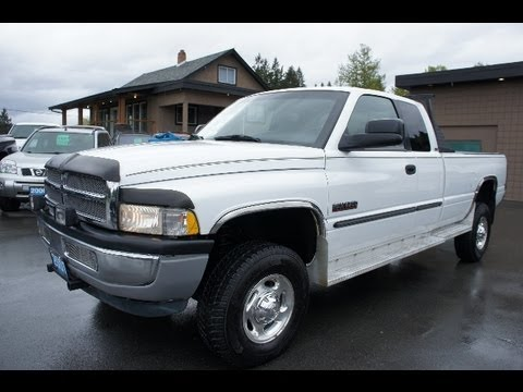 2001 DODGE RAM 2500 CUMMINS 5-SPEED TURBO DIESEL 4X4 AT KOLENBERG MOTORS LTD