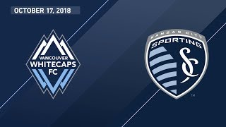 HIGHLIGHTS: Vancouver Whitecaps FC vs Sporting Kansas City | October 17, 2018