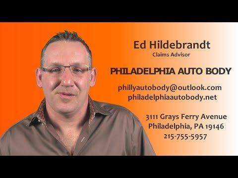 Vidbi: Ed Hildebrandt - Claims Advisor (Philadelphia Auto Body)